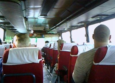 фото в 335 автобусе Фряново-Москва