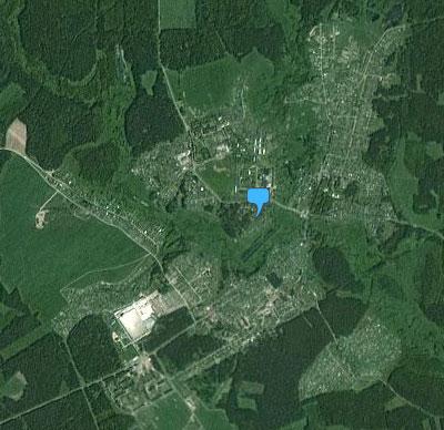карта Фряново